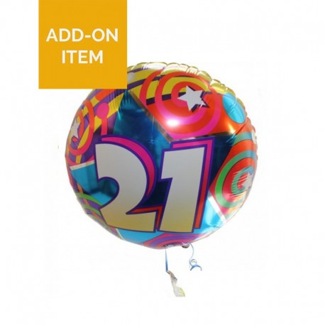 Numbered Balloon